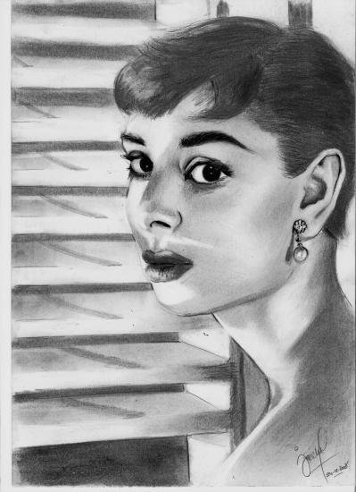 Audrey Hepburn by G